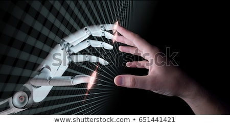 Idea Background With Human Hand Stock photo © leedsn