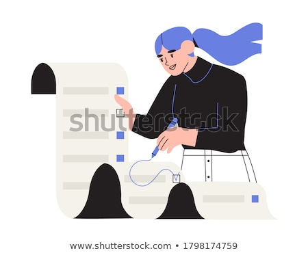checklist design Stock photo © Pinnacleanimates