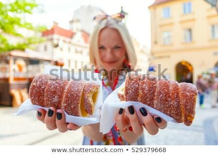 традиционный · торт · Sweet · Чешская · республика · Словакия - Сток-фото © fisfra