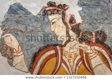 Fresco Detail Stock photo © igabriela
