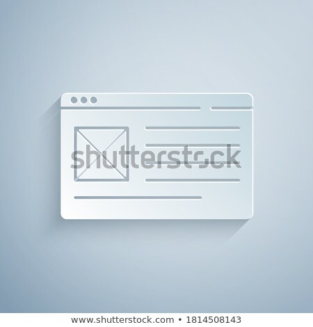 urled paper  Stock photo © oblachko