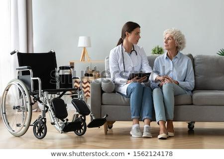 inwalidztwo · 3D · diagnoza · choroba · czerwony - zdjęcia stock © tashatuvango