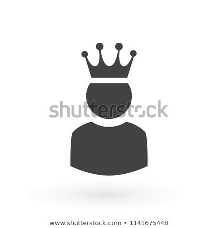 Güvenlik kral satranç gökyüzü arka plan seyahat Stok fotoğraf © Niciak