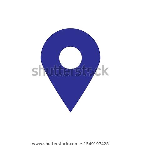 kolorowy · Pokaż · pin · biały · serca · wyszukiwania - zdjęcia stock © wad