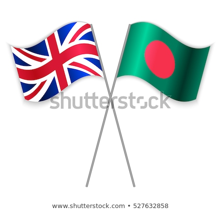 Verenigd Koninkrijk Bangladesh vlaggen puzzel geïsoleerd witte Stockfoto © Istanbul2009