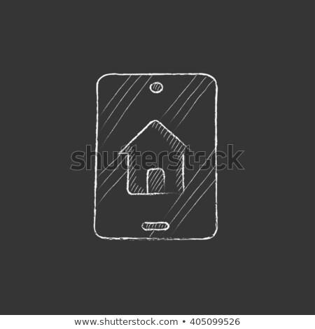 lousa · comprar · alugar · detalhado · ilustração · diferente - foto stock © rastudio