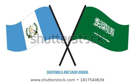 Saudi Arabia and Guatemala Flags  Stock photo © Istanbul2009