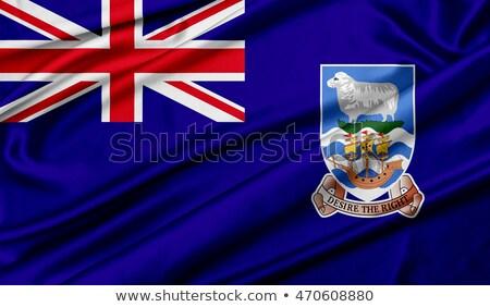 Zjednoczone Królestwo falklandy flagi puzzle odizolowany biały Zdjęcia stock © Istanbul2009