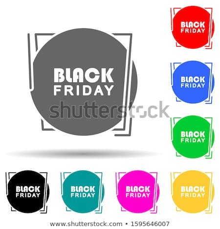 Sunday Offer Blue Vector Icon Design Stock photo © rizwanali3d