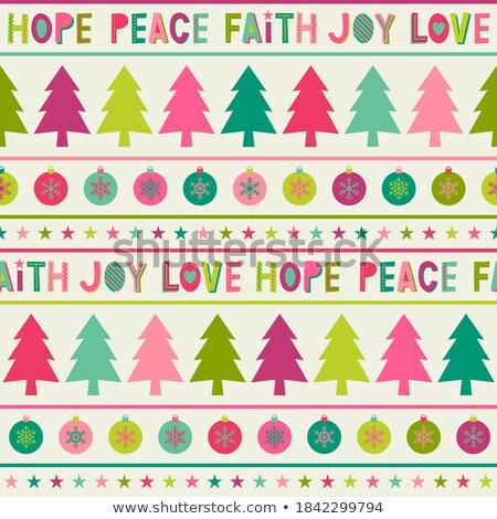 holiday tree of hope stock photo © lightsource