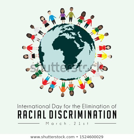 International day for the elimination of Racism- March 21  Stock photo © shawlinmohd