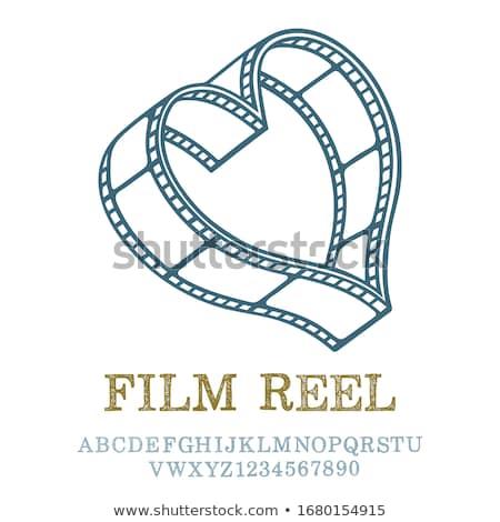 vieux · antique · caméra · vidéo · blanche · technologie · fond - photo stock © fisher