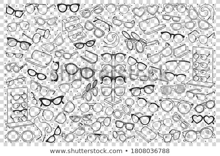 spectacles Stock photo © Serg64