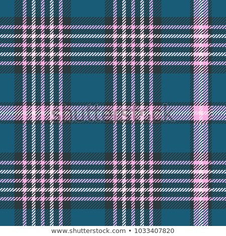 Seamless Gingham, Teal stock photo © Oakozhan