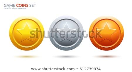 金 銀 青銅 トロフィー カップ ベクトル ストックフォト © Andrei_