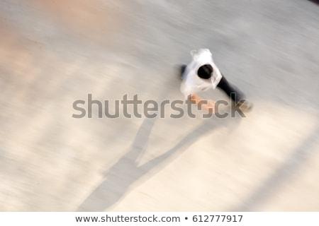 witte · super · gestroomlijnd · trein · technologie - stockfoto © joyr