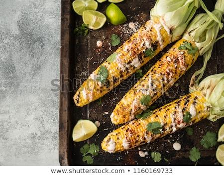 fried corn cob Stock photo © M-studio