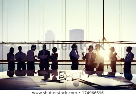üzleti csoport tanács vállalati cég irányítás üzletemberek Stock fotó © Lightsource