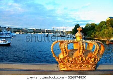 golden crown on the bridge stock photo © 5xinc