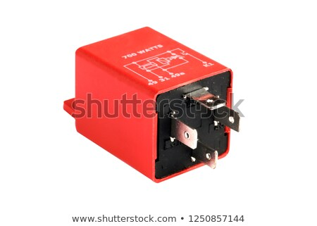 Power relay, isolated on white Stock photo © clarion450