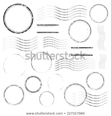 Dotación post sellos aislado blanco oficina Foto stock © oblachko