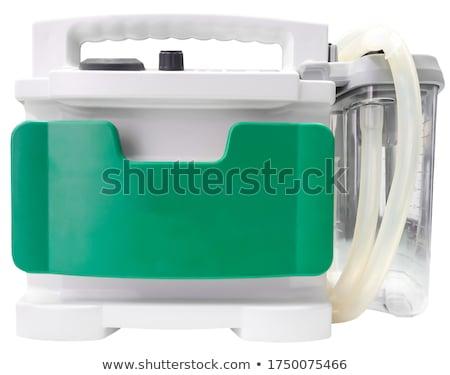 Orvosi zöld elmosódott szöveg sztetoszkóp tabletták Stock fotó © tashatuvango