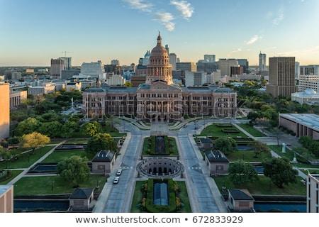 Austin Texas épület belváros város utazás Stock fotó © BrandonSeidel