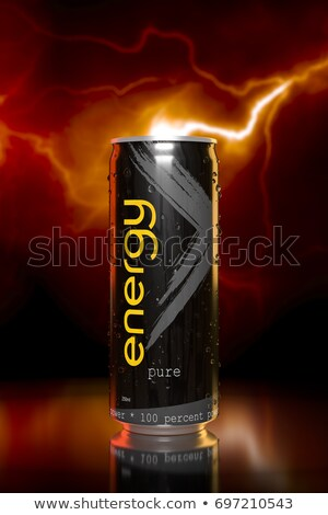 Charakteristisch rot Energy-Drink tin 3D-Darstellung Business Stock foto © magann