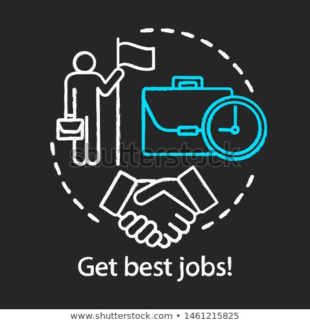 Best Deal Concept. Doodle Icons on Chalkboard. Stock photo © tashatuvango