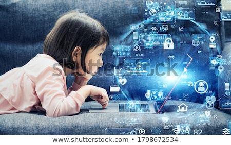 SaaS. E-Business Concept. Stock photo © tashatuvango