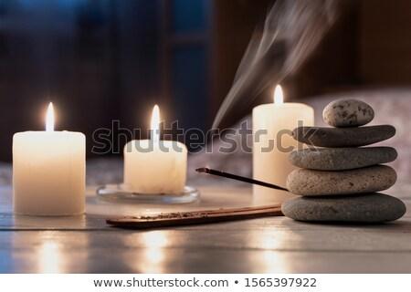 Ardor incienso templo techo humo Foto stock © tito