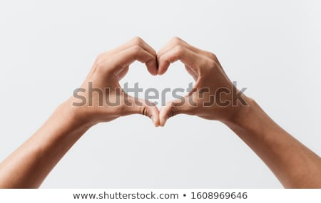 heart in the hands 2 stock photo © Olena
