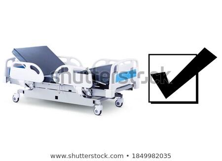 Emergency Hospital Litter Stock photo © vilevi