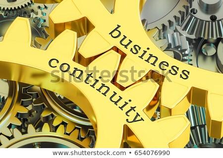Golden Gears with Incident Management Concept. Stock photo © tashatuvango