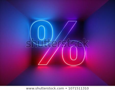 Percent In The Room Stock photo © limbi007
