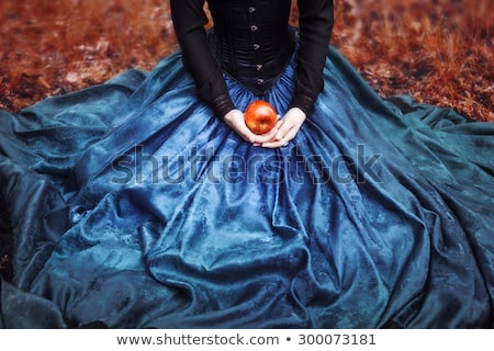 femme · pommes · alimentaire · nature · beauté - photo stock © IS2