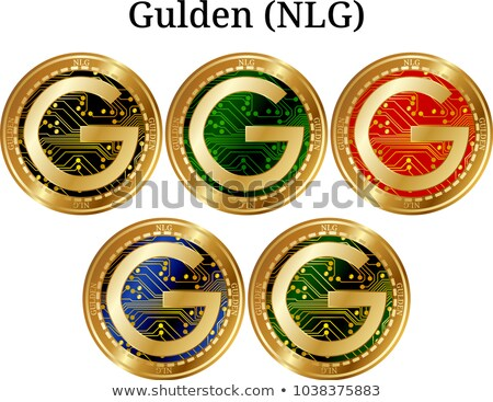 Gulden Digital Currency - Vector Illustration. Stock photo © tashatuvango