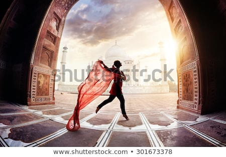 Stock photo: Jumping around the world