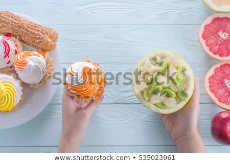 Unhealthy Eating Temptation Stock photo © Lightsource