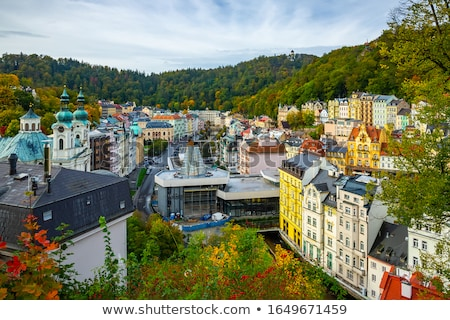 Mary Magdalene Church in Karlovy Vary Stock photo © benkrut