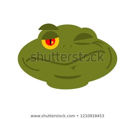 Béka varangy avatar boldog érzelem hüllő Stock fotó © popaukropa