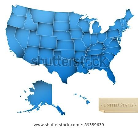 地図 · モンタナ · パターン · アメリカ · 紫色 · サークル - ストックフォト © kyryloff