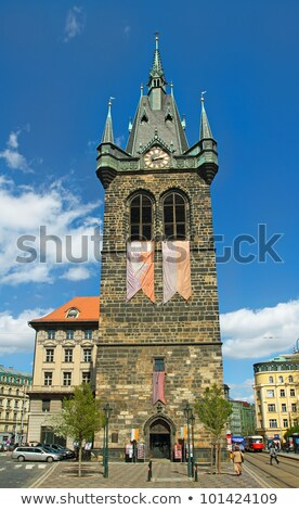 Jindrisska Tower Prague Stock photo © Givaga