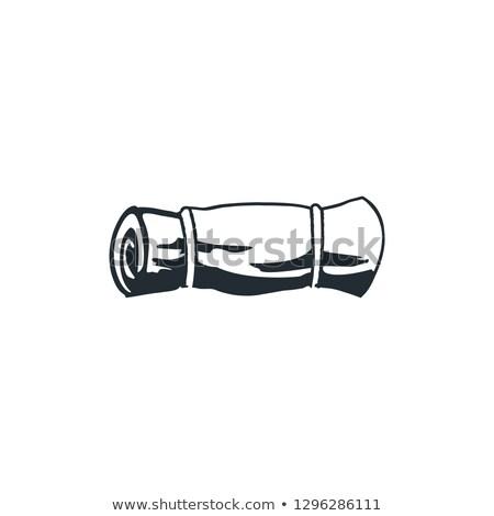 バリスタ · アイコン · 白 · 在庫 · ベクトル · ショップ - ストックフォト © jeksongraphics