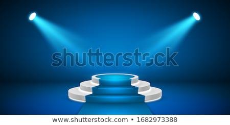Etapa podio vector fondo escena Foto stock © olehsvetiukha