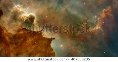 Stock photo: Beautiful nebula in cosmos far away. Elements of this image furnished by NASA.