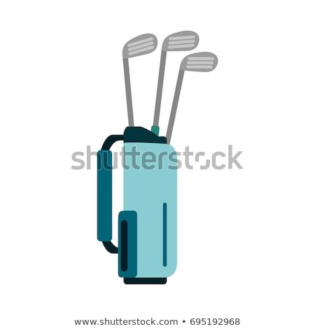 макроса гольф-клубов сумку различный сумка для гольфа Сток-фото © lichtmeister