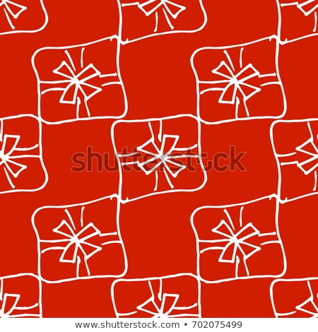 Noël linéaire symboles vecteur Noël Photo stock © Decorwithme