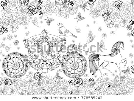 draw colour children adult level stock photo © olena