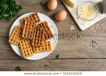 ingredient for cooking cheese waffle stock photo © furmanphoto